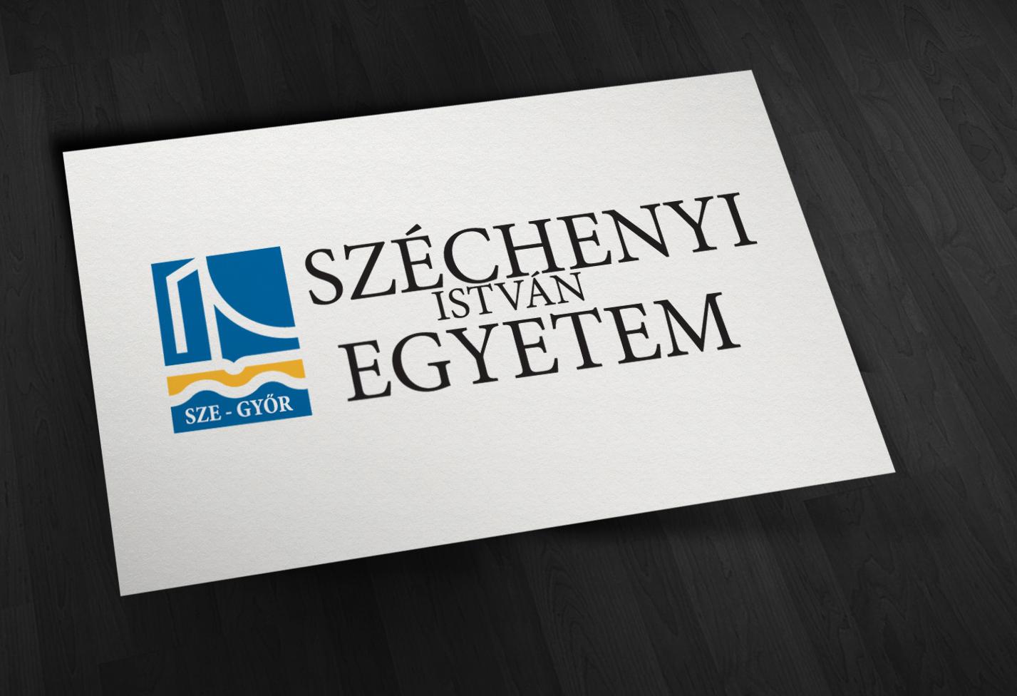 Széchenyi Istvány Egyetem intézményi arculata, logó kép