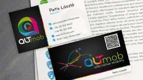 Kisarculat, ALTmob céges arculat készítése