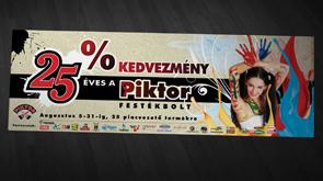 Molinó, a Piktor Festékbolt céges arculata