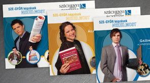 Széchenyi Istvány Egyetem, hivatalos kiadványok arculata