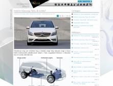 ALTmob weblapja reszponzív webdesign alkalmazásával, 2 hasáb megjelenítéssel.