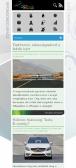 ALTmob weblap képe RWD használattal, mobilnézetben.
