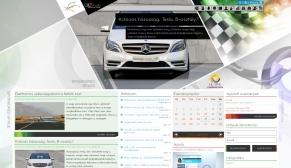 ALTmob portál reszponzív webdesign-nal, HD felbontású nézetben<br />