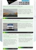 ALTmob weboldala reszponzív webdesign kialakítással, tablet egy oszlopos álló nézetben.