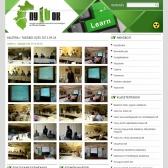 NYITOK Klaszter honlapja RWD alkalmazással, a hírportál galériájának képe.