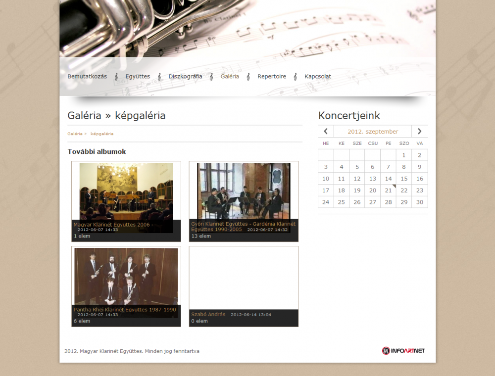 MKE honlapjának galéria képei
