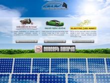Alternatív Hajtású Járművek Versenye weboldalának szelekciós kezdőlapi képe