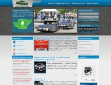 Alternatív Hajtású Járművek Versenye weblapjának képe