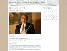 Magyar Klarinét Együttes weblap koncertnaptárjának képe