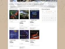 Magyar Klarinét Együttes weboldalának diszkográfia oldali képe