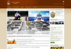 Gál Ferenc Főiskola honlapja reszponzív webdesign alkalmazásával