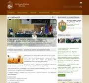 Gál Ferenc Főiskola portáljának reszponzív webdesign alkalmazású képe, 2 hasábos nézetben