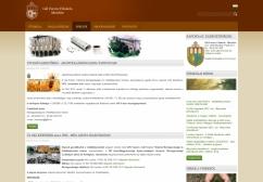 Gál Ferenc Főiskola intézményi portál reszponzív webdesign alkalmazású képe