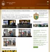 Gál Ferenc Főiskola weboldal RWD kialakítással, 3 hasábos nézetben.
