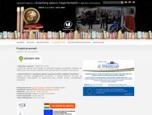 Szolnoki Főiskola Könyvtár és Távoktatási Központ weboldalának képe
