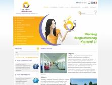 IL-PE Kft. webkatalógus honlapja