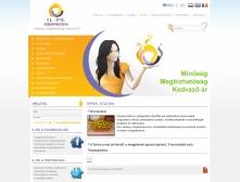IL-PE Kft. webkatalógus jellegű weblapja