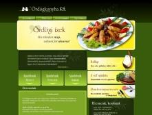 Ördögkonyha Kft. weboldalának képe