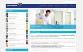 Pentaclean Hungary Kft. webkatalógus képe normál nézetben