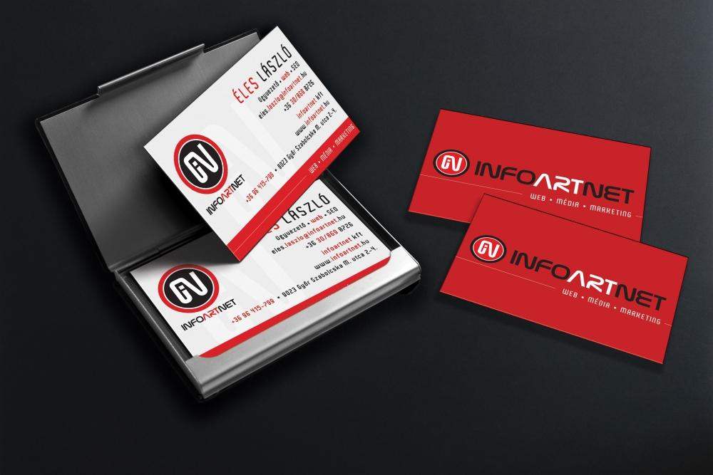 Arculat, az Infoartnet Kft. névjegye