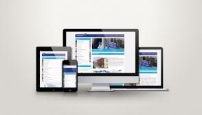 PentaClean arculatának készítése, Reszponzív webkatalógus