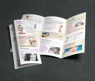 Az X-Shape Szépségstúdió céges arculatának készítése, Bemutatkozó kiadvány