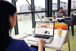 Az X-Shape Szépségstúdió céges arculatának készítése, A weboldal arculata