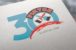 Piktor és Fészekkert arculattervezés, A Piktor 30 éves logója
