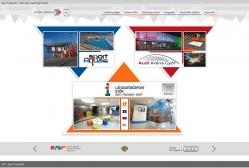 Győr Projekt Kft. weboldal kezdőlapja normál PC nézetben