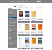 Széchenyi Egyetem Jegyzetbolt weboldal HD felbontás