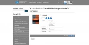 Széchenyi Egyetem Jegyzetbolt weboldal - vásárlás