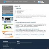 Universitas-Győr Nonprofit Kft. weboldala - normál felbontás