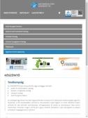 Universitas-Győr Nonprofit Kft. weboldala, tablet nézet