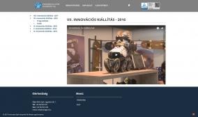 Universitas-Győr Nonprofit Kft. weboldala - tartalom