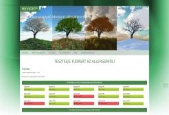 Revicet weboldala - Kvíz komponens