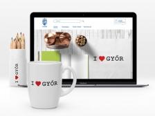 Győr Projekt webshop reszponzív weboldal