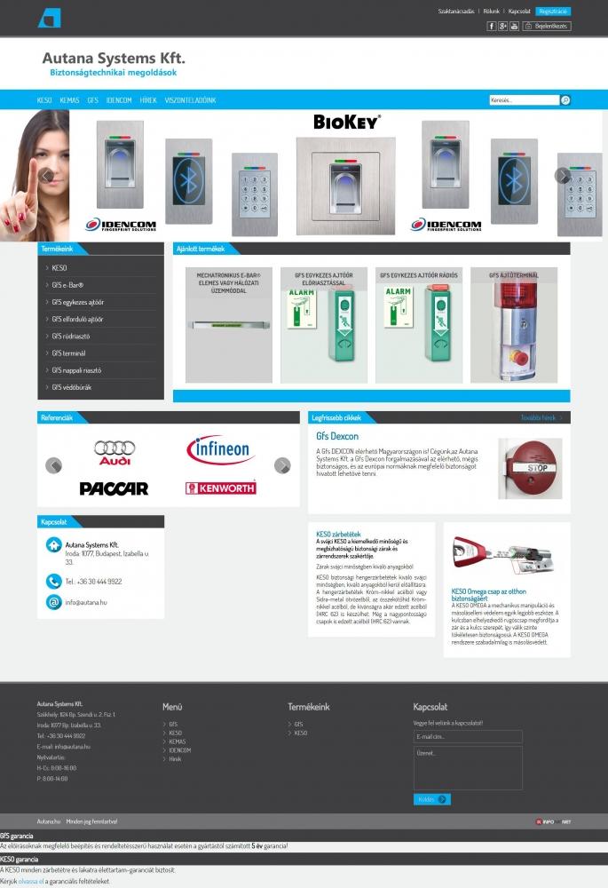 Autana Systems Kft. (http://www.autana.hu) - teljes főoldal
