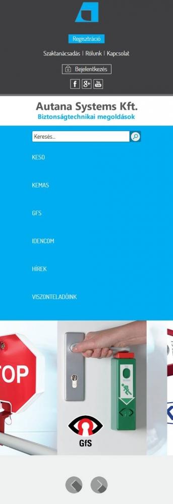 Autana Systems Kft. (http://www.autana.hu) - mobil nézet