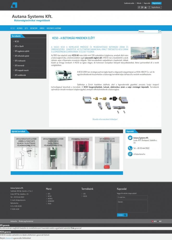 Autana Systems Kft. (http://www.autana.hu) - tartalmi elem