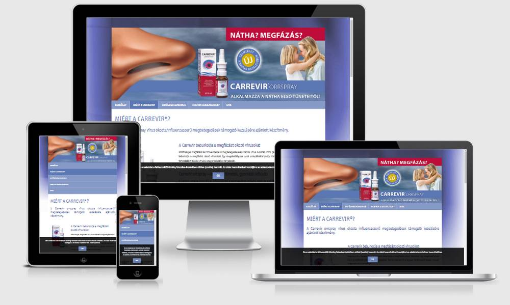 Carrevir (Sager Pharma) (http://carrevir.hu) - reszponzív nézetek