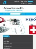 Autana Systems Kft. (http://www.autana.hu) - tablet nézet (álló)