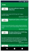 EYOF 2017 (http://gyor2017.hu) - alkalmazás fejlesztés - EYOF önkéntes applikáció hírek