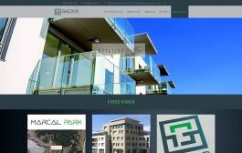 Gádor a Stílusépítő (gadorkft.hu) - főoldal - monitor nézet