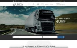 Bontott VOLVO (TIMX Kft.) (http://volvofhbonto.hu) - monitor nézet