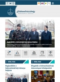 Hódmezővásárhely város honlapja (https://www.hodmezovasarhely.hu) - tablet nézet (álló)