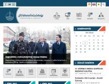 Hódmezővásárhely város honlapja (https://www.hodmezovasarhely.hu) - tablet nézet (fekvő)