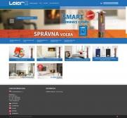 LEIER kéményshop (szlovákia) (http://kominy.leier.sk) - teljes főoldal