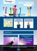 Sager Dental (Sager Pharma) (https://www.sagerdental.hu) - tablet nézet (álló)
