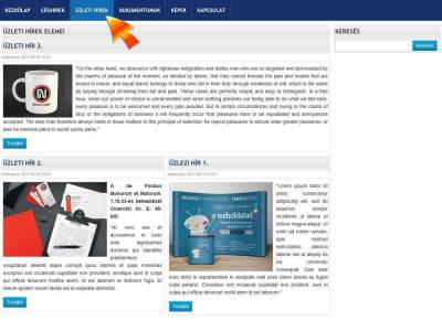 Új blogos lista a website-on
