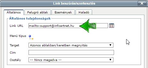 linkek megjelenítése keresni megfogalmazni